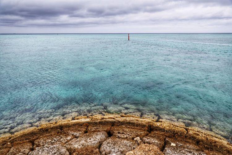 그바다 그리움 . . #하루한컷 #오키나와 #바다 #방파제 #5DMARK4 #신계륵 #EF2470F28LIIUSM Water Sea Beach Sand Sky Horizon Over Water Landscape Cloud - Sky