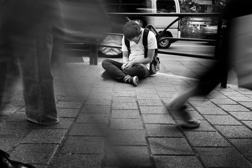 Shibuya, Tokyo, Japan, 2017 Blackandwhite Streetphotography