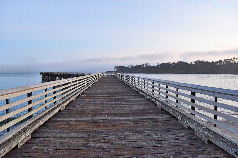 The Great Outdoors San Simeon, Ca Pier Ocean Dusk Sky