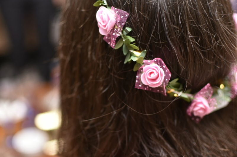Human Hair One Person Hairstyle Fashion Wearing Flowers Flower Adult first eyeem photo