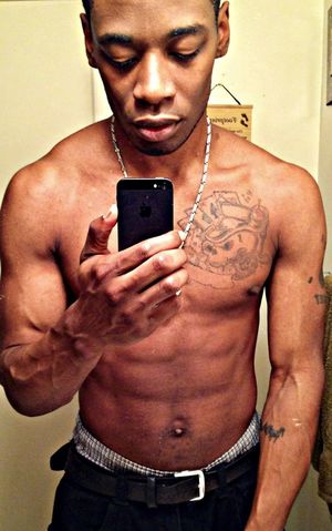 Selfie Tattoos IPhone5 Through The Mirror