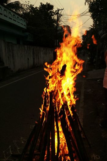 Flame Bhogi Sankranthi Redflames