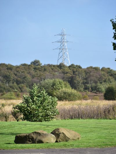 Taking Photos Electricity Pylon Landscape Trees Rocks Nikon D5500