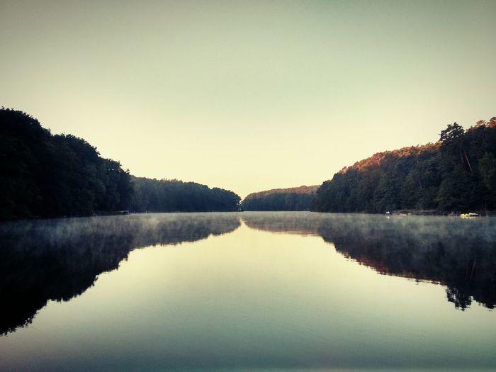 üdersee Brandenburg Lake Morning Light Handy
