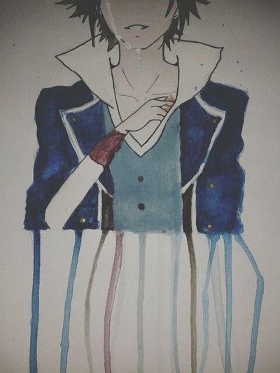 I beg your hate Drawing K Project Saruhiko Fushimi