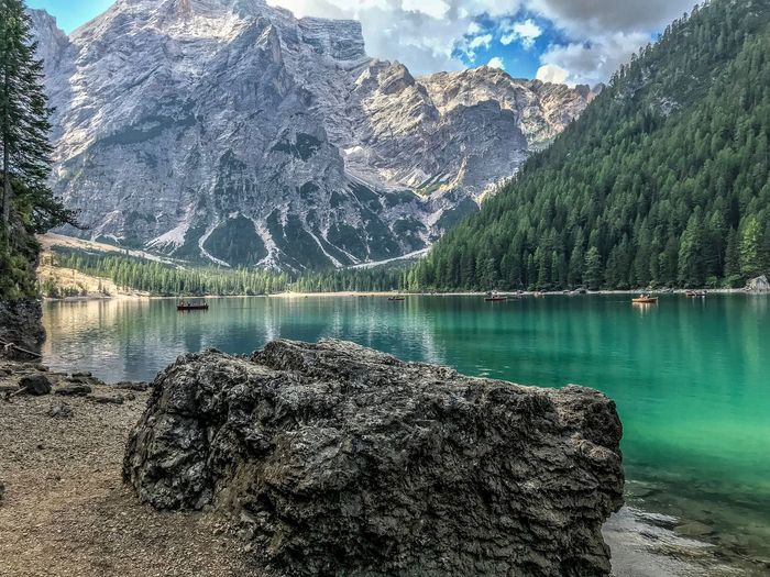Rocky Mountains By Pragser Wildsee