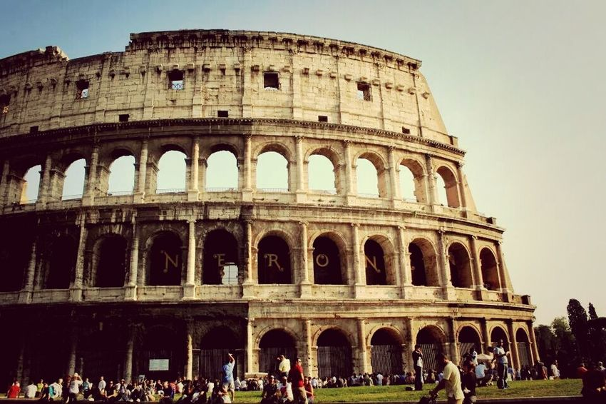 ROMA. Rome Colosseum Photo In Rome