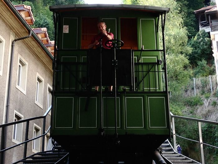 Fribourg Funicular Suisse  Fribourg Funiculaire  Funicular Modelreleaseok Tourisme Ancien Deplacement