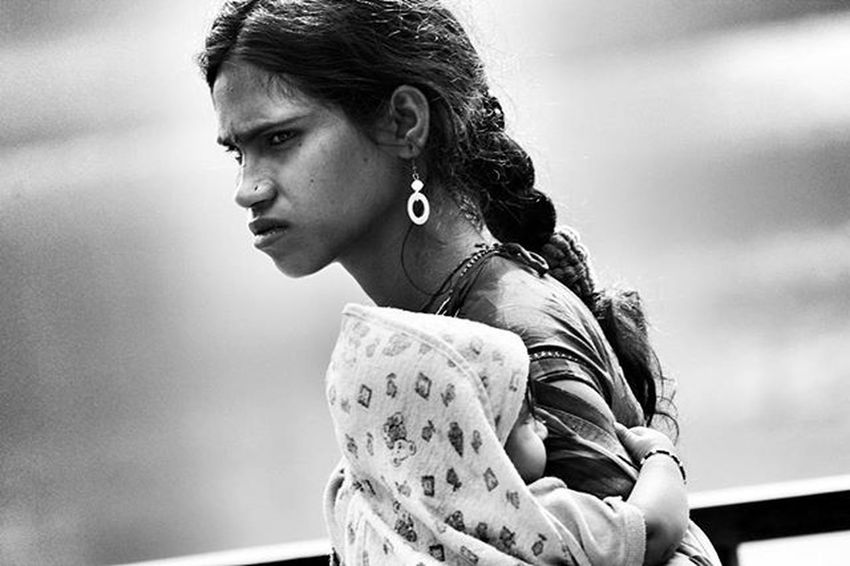 Mother_India ... Better keep your mom happy instead of ur girlfriend or wife on this valentine.... She had suffered alot to see u happy.. N now its your turn.. Love you mom 😘 😘 😘 Potrait Mother Canon1200d Canonindia Mumbaistreet Indianphotography Indianphotographyclub