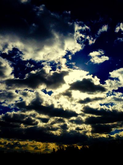 Low Angle View Sky Cloud - Sky Nature Beauty In Nature Don't worry... for god is watching over everybody