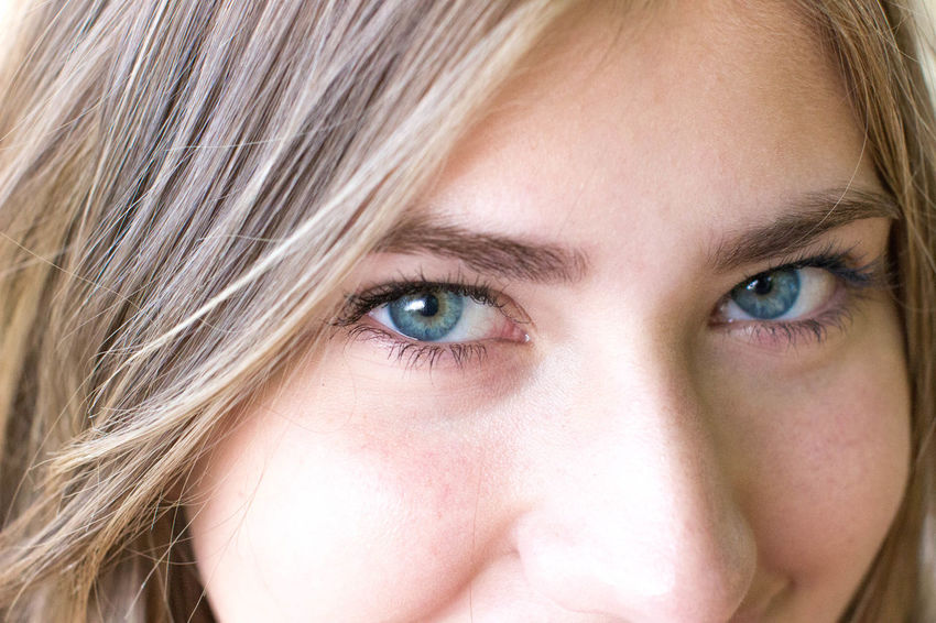 Beauty Blue Eyes Close Up Close-up Eyebrow Eyelash Focus On Foreground Green Eyes Headshot Human Eye Human Face Human Hair Human Skin Leisure Activity Lifestyles Looking At Camera Person Portrait Young Adult Young Women