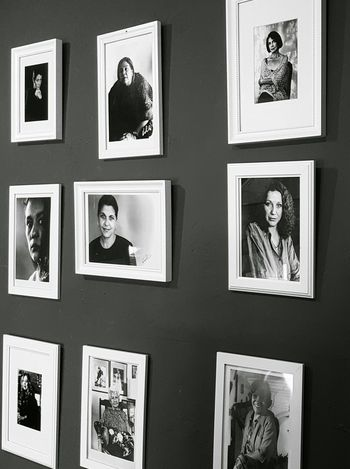Blackandwhite Monochrome Portraits Women Inspirational Frames Frame It! At The Restaurant Check This Out Enjoying Life Design Wall Taking Photos Traveling Madrid Hanging Out Elegance Everywhere Photos Of Photos Showcase July