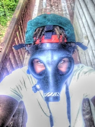 Smoking Dope Thru A Gas Mask