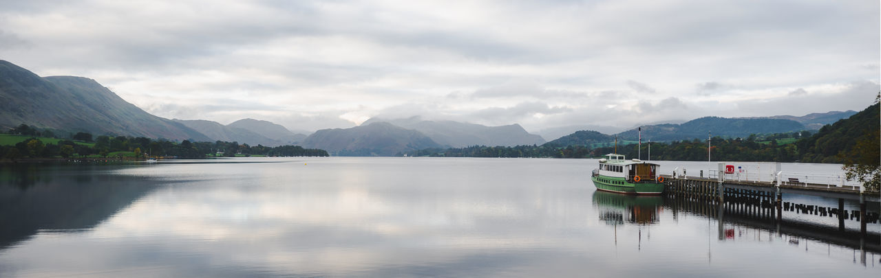 Lake District Ullswater Beauty In Nature Cloud - Sky Day Lake Mode Of Transportation Mountain Mountain Range Nature Nautical Vessel No People Non-urban Scene Outdoors Passenger Craft Reflection Scenics - Nature Sky Tranquil Scene Tranquility Transportation Water Waterfront