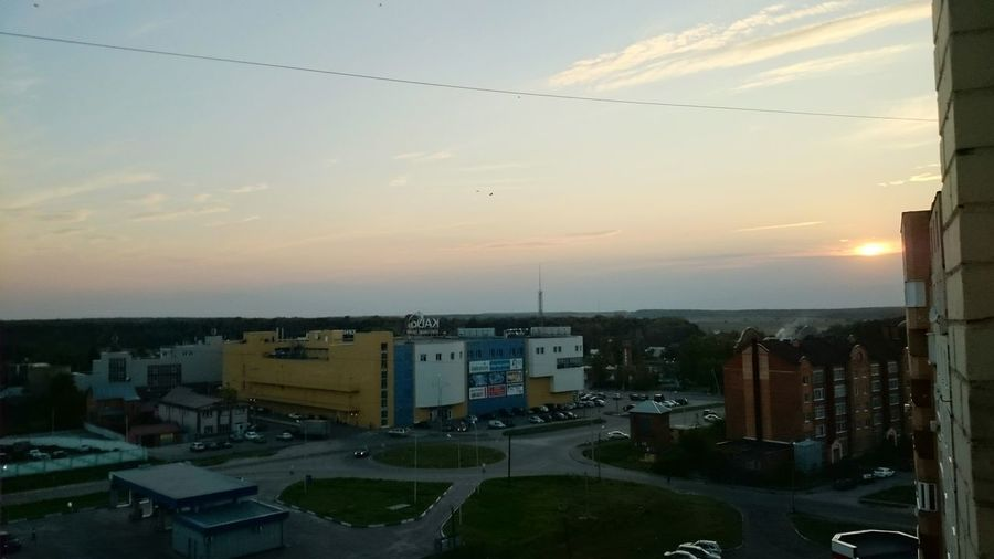 Taking Photos Hello World Russia City Sky And City Sunshine Sunset Natural Beauty No Edit/no Filter Cities_collection