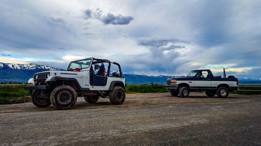 StormTrooper Jeep and Ferd Bronco Jeep Life Jeep Jeep Wrangler  Nature First Eyeem Photo