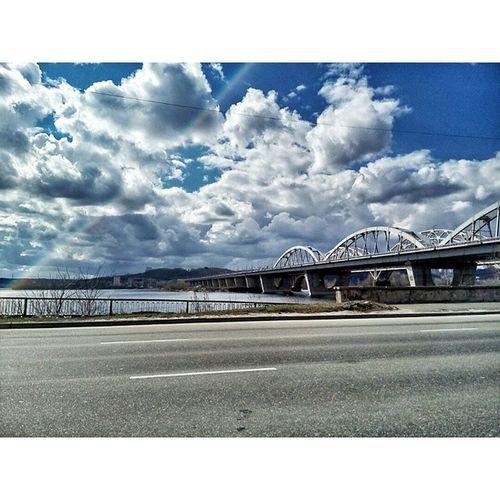 Insta_kiev Ukraine Kiev Kyiv Bridge Dneprriver Киев украина