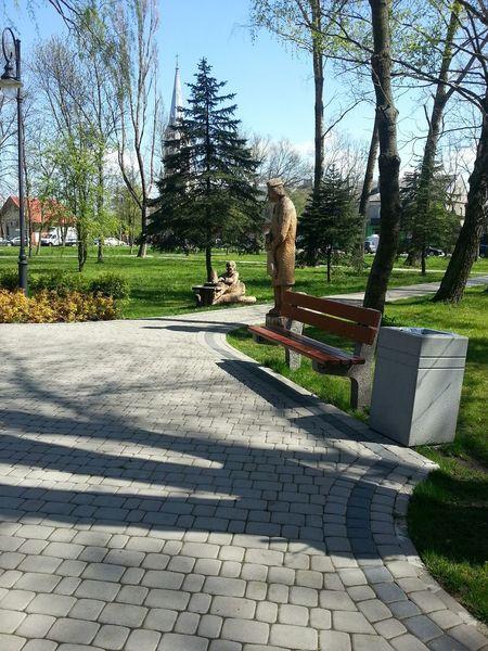Polish Folk Folk Sculpture Poland Smalltown Summer City Gardens Samsungphotography My Smartphone Life Folklore