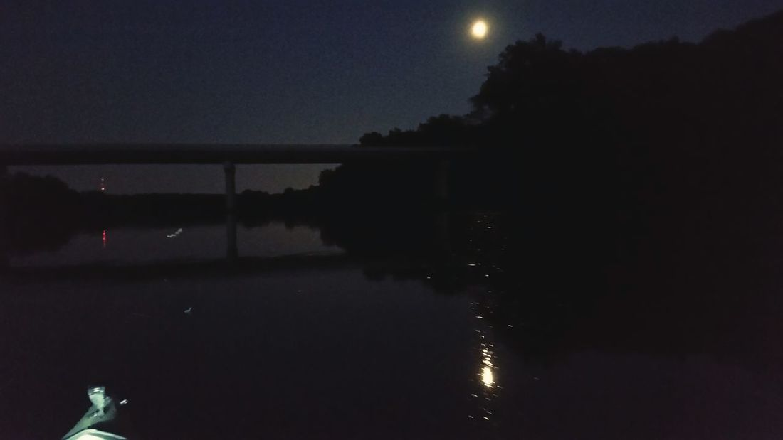 River By Moonlight