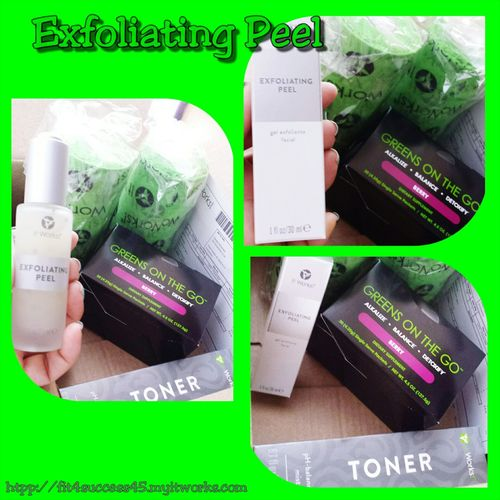 I just received my mail. .... It Works Order, Exfoliating Peel, Greens and Toner.... I'm so ready to Rock! Youdeserveit Check This Out Enjoying Life Fit4success45.myitworks.com ItWasAmazing Crazy Body Wraps Looseweight Eyes Lips Detox