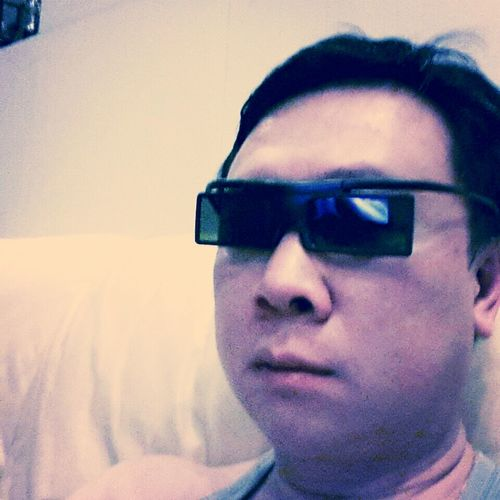 Watching A 3D Movie At Home