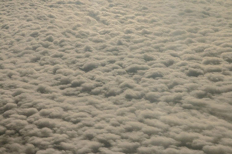 High angle view of cloudscape