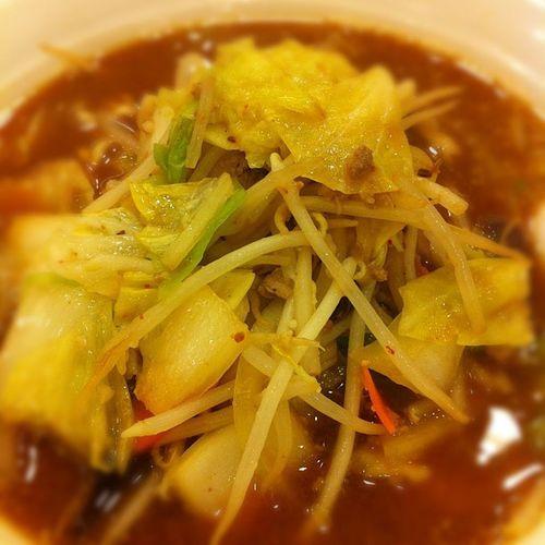 八番麺味噌大盛