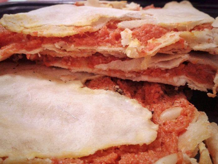 Farinata di zucca. Farinata Di Zucca Pumpkin Cake Zucca Cucina Tipica Cucina Genovese Genoese Food And Drink Typical Food Torte Salate Backgrounds Full Frame Textured  Close-up