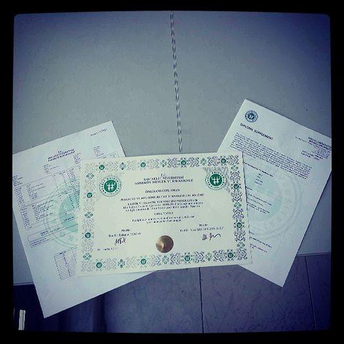 Diplomami Alirim Havamida Atarim ... :p