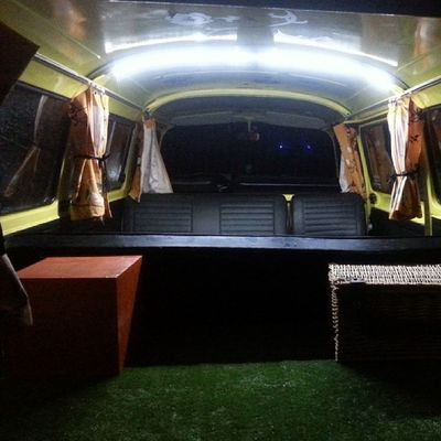 Busvolkswagen Transporter Cibborio Bulli matrimoniovintage