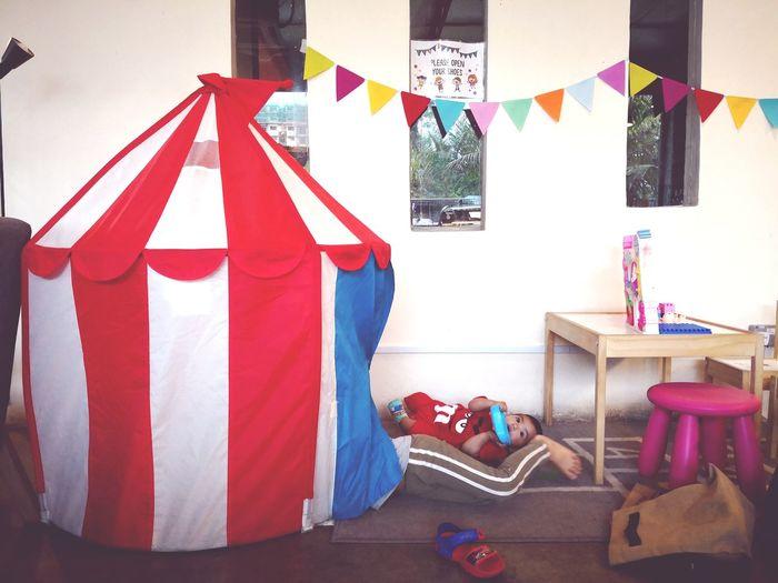 Circus Tent Play Kids EyeEm Selects Coathanger Hanging Patriotism