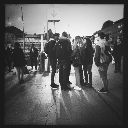 People Watching WeAreJuxt.com Hipstamatic Streetphotography_bw Bnw_friday_challenge