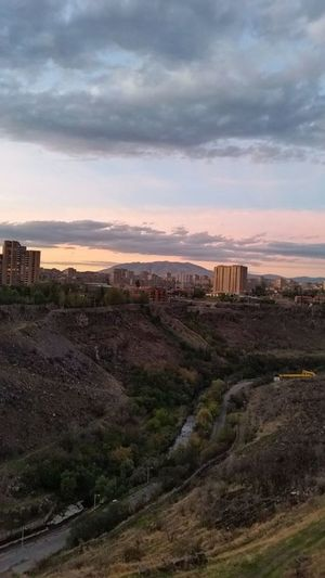 Landscape Peyzaj Sunset Margenta Urban Landscape Urban Nature Canyon River Sky And City Sky