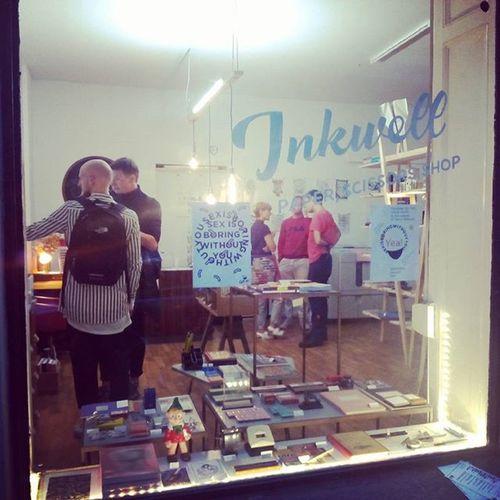 Inkwell Printworks Neukölln Popupshop HappeningNow