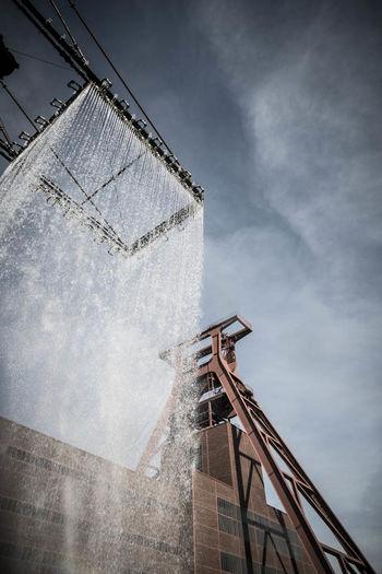 """Installation """"Tower"""" Ruhrgebiet Art"""