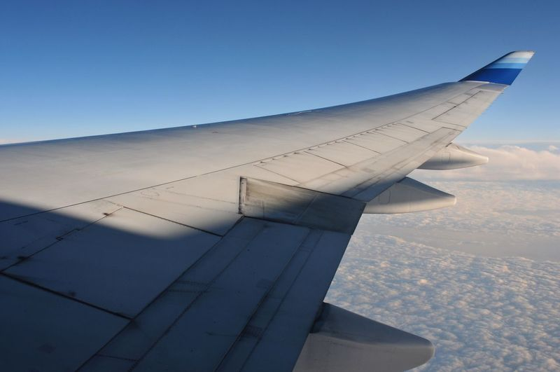 Plane Wing Travel No People Sky Clouds And Sky Above The Clouds