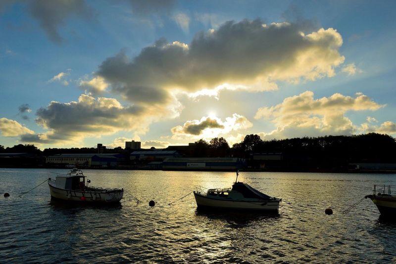 Cloudy down the Tyne! 👍🏻😀