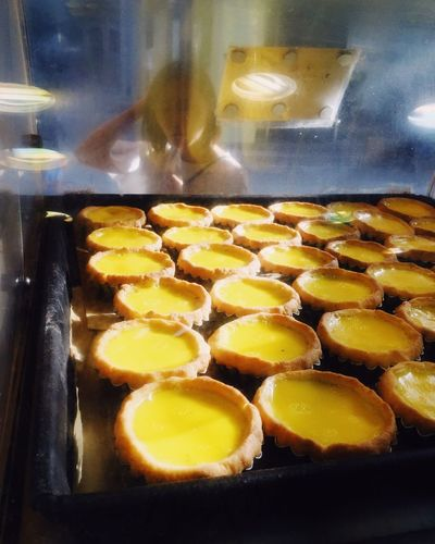 Paint The Town Yellow The Hong Kong style egg tarts, which one you would choose?