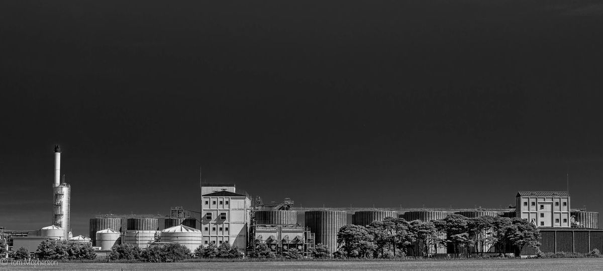 Black And White Friday No People Copy Space Built Structure Architecture Building Exterior Clear Sky Outdoors Day Tree Sky Nature diageo elgin Sunset #sun #clouds #skylovers #sky #nature #beautifulinnature #naturalbeauty #photography #landscape first eyeem photo Scenics Diageo