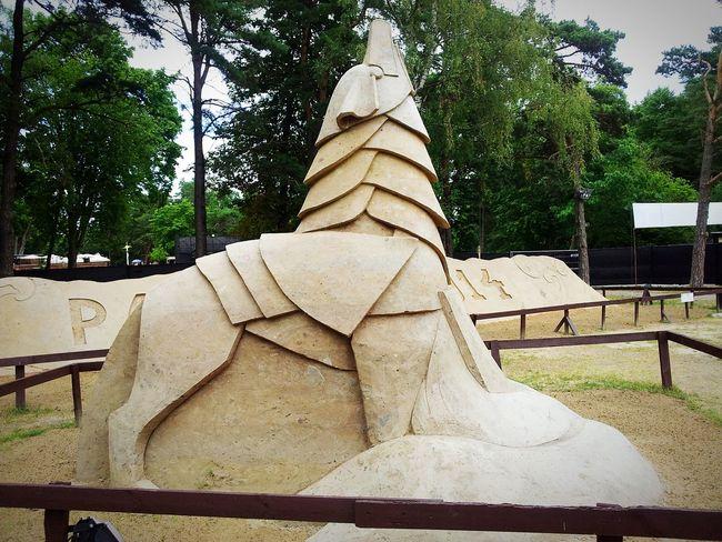 Palanga Lietuva Sand Art Statue Wolf Geležinis Vilkas Wonderful Beautiful Summer Amazing View