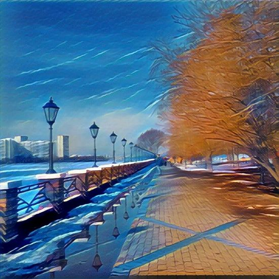 Moscow City Prisma Cityscape Moscow River