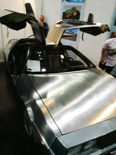 Leipziger Messe Auto aus zurück in die Zukunft First Eyeem Photo