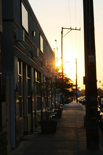 Sunset Dusk No People City Building Exterior Sky The Street Photographer - 2017 EyeEm Awards