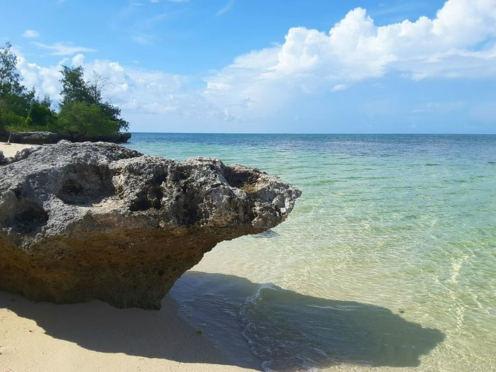 Frog Stone rock formation in Hoga Island Rock Form Beach Photography Beach Walk White Sands Beautiful Beach Vocation Place Wakatobi Island