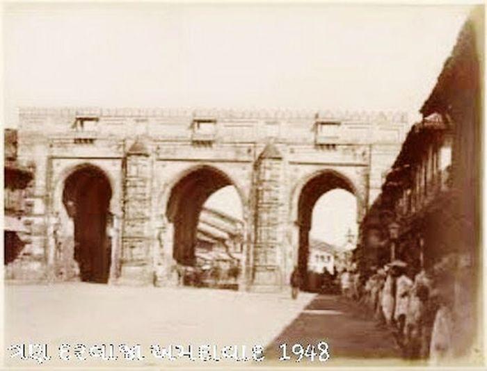 Ahmedabad Gujrat India 1948 Three gate Haritage look