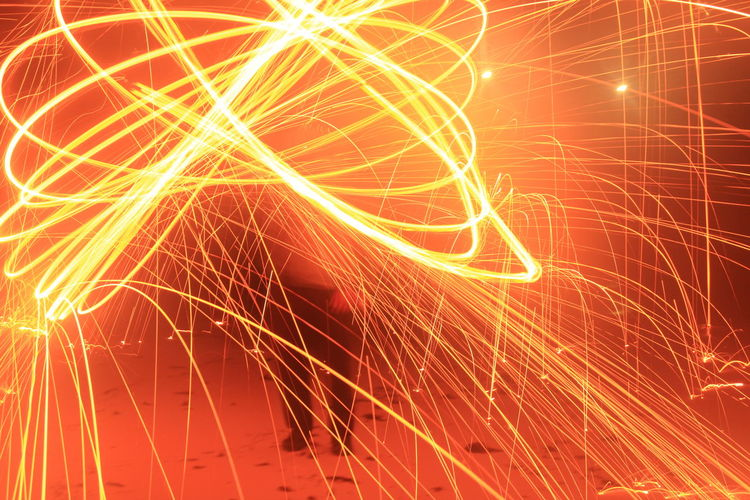 Illuminated Backgrounds Complexity Data Pattern Abstract Light Trail Light Painting Sparks Long Exposure