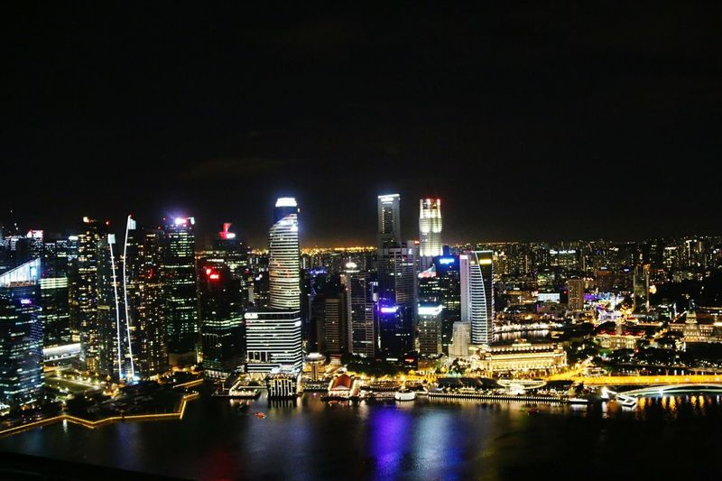 Singapore Singapur Bei Nacht Singapura City! Singapore Skyline Night Photography Travel Photography Travel The World The Culture Of The Holidays Nightphotography Singapor Travelphotography Night City Night My Year My View