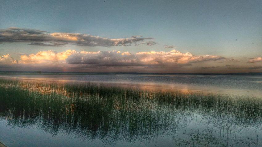 Landscape PhonePhotography Nature Sky And Clouds Podlasie Polska Hello World