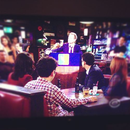 How I Met Your Mother: where strippers, awesomeness, and LeBron James meet. Thedecision Howimetyourmother Stamptramp