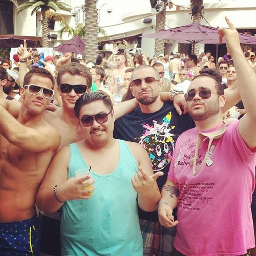 OC crew doing semi big Bachelorparty Marquee Dayclub DrunkLife struglife yeahyeahyouknowit vivalasvegas @maeschen_nation @cousart @arrian_culjak